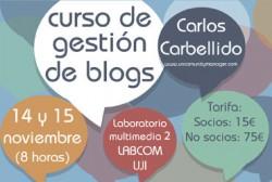 Curso Blogger Castellón